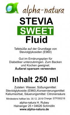 Stevia Premium Flüssig 250ml (2,99€ /100ml)